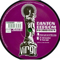 Danton Eeprom - Prohibition